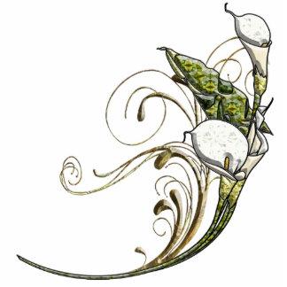 Calla Lilies Acrylic Cut Outs