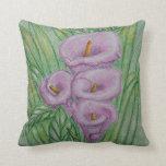 Calla lilies pillow