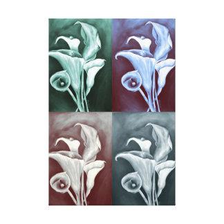 Calla Lillies Canvas Print