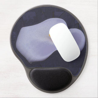 Calla Lilly Illustration Gel Mousepads