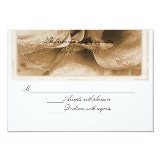Calla lily 9 cm x 13 cm invitation card