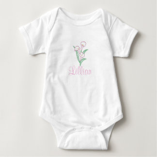 Calla Lily Baby Bodysuit