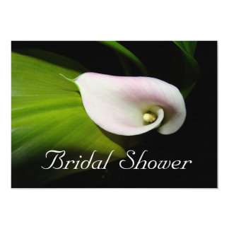 Calla Lily Bridal Shower Invitation