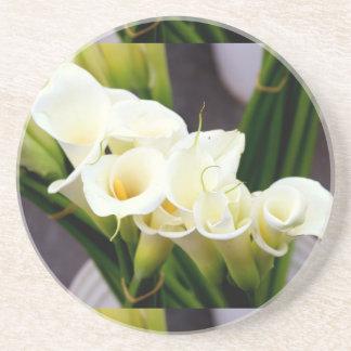 calla lily coaster