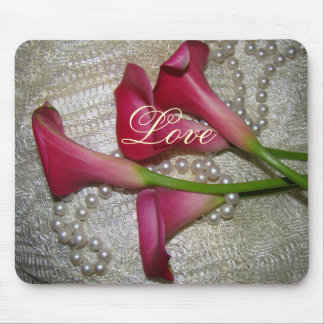 Calla Lily Flower Floral Wedding Garden Mouse Pad