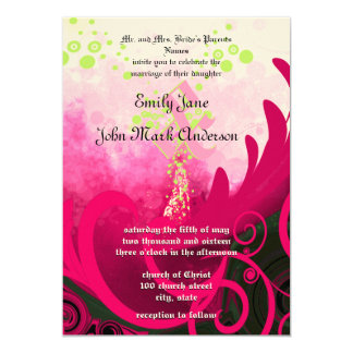 Calla Lily Flower Wedding Invitation