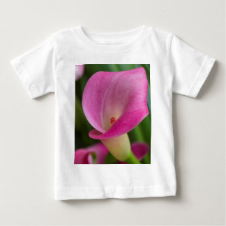 calla lily in the garden baby T-Shirt