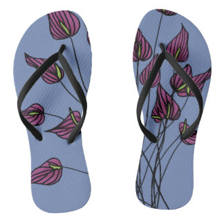 Calla Lily Paco Flip Flops