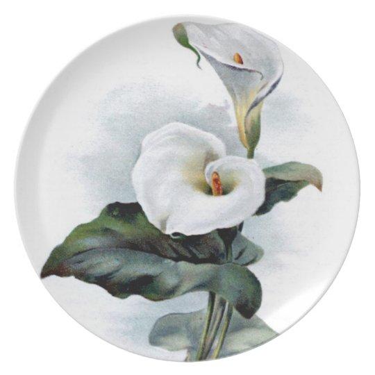 Calla Lily Plate