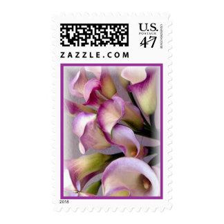 Calla Lily Purple Postage vertical