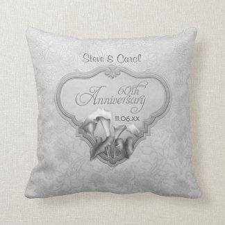 Calla Lily Silver Anniversary 60th - Customize Cushion