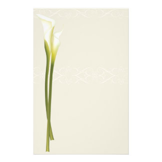 Calla Lily stationery