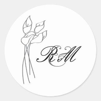 Calla Lily Sticker