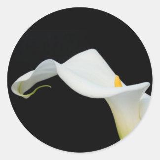 Calla Lily Sticker Seal