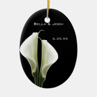 Calla Lily Wedding Ornament