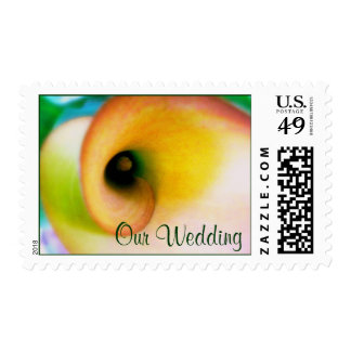 Calla Lily Wedding Postage