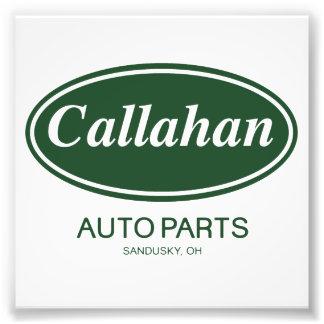 Callahan Auto Parts Art Photo
