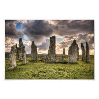 Callanish Standing Stones Photo Art