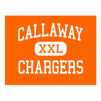 Callaway - Chargers - High - Jackson Mississippi Postcard