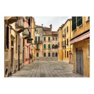 Calle Del Montello, Venice Italy Pack Of Chubby Business Cards