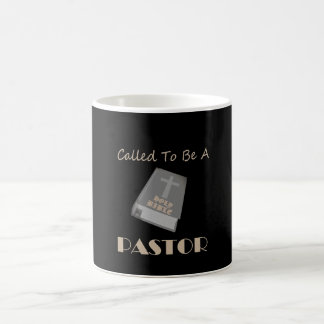 CALLED TO BE PASTOR DK COFFEE MUG