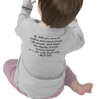 Called to Ministry Infant Shirt