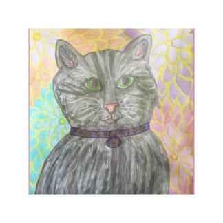 Callie Cat Canvas Print