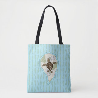 Callie the Sea Turtle All-Over-Print Bag