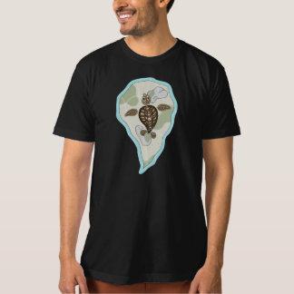 Callie the Sea Turtle Men's Dark Shirt