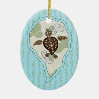 Callie the Sea Turtle Ornament