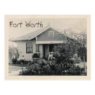 Callie's Bed & Breakfast, Fort Worth, Texas Postcard