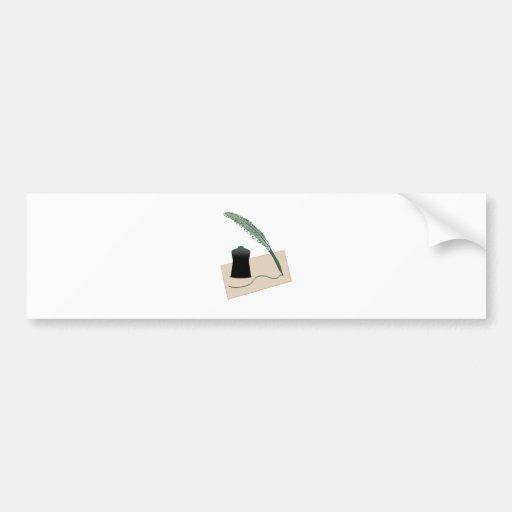 Calligrapher Instruments Bumper Stickers
