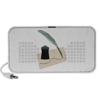 Calligrapher Instruments iPod Speaker