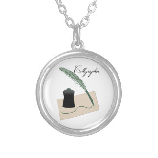 Calligrapher Personalized Necklace