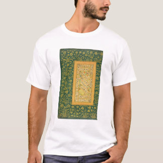 Calligraphy by Mir Ali of Herat, with a Mughal bor T-Shirt