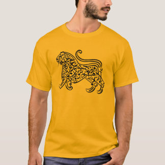 Calligraphy Lion (black) T-Shirt