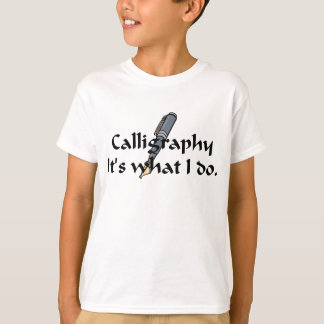 Calligraphy T-shirts and Gifts.