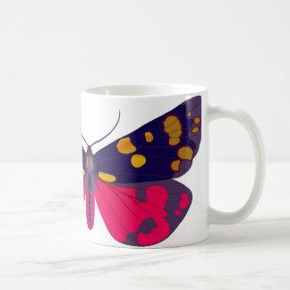 Callimorpha dominula basic white mug