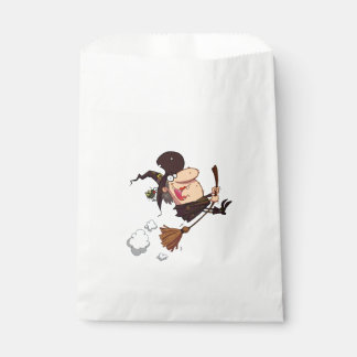 Calling All Witches Halloween Favor Bags