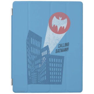Calling Batman Bat Symbol Graphic iPad Cover