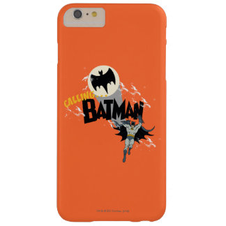 Calling Batman Graphic Barely There iPhone 6 Plus Case
