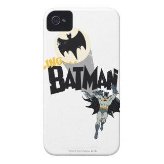 Calling Batman Graphic iPhone 4 Case-Mate Case