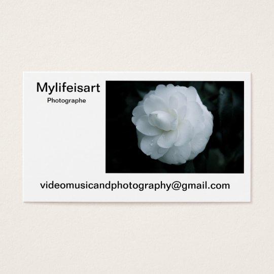 Calling card Mylifeisart photographer