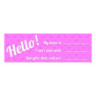 Calling Card - Pop Purple Business Card Templates