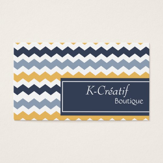 Calling cards Blue/Yellow Rafter