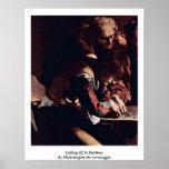 Calling Of St.Matthew Michelangelo Da Caravaggio Poster