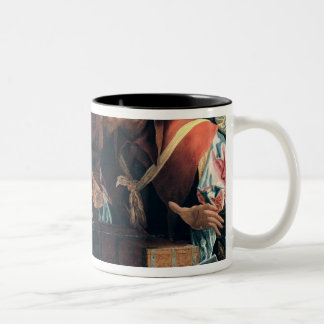 Calling of St. Matthew Two-Tone Coffee Mug