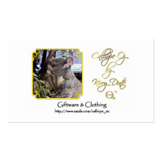 Calliope_Oz Advertisement Pack Of Standard Business Cards