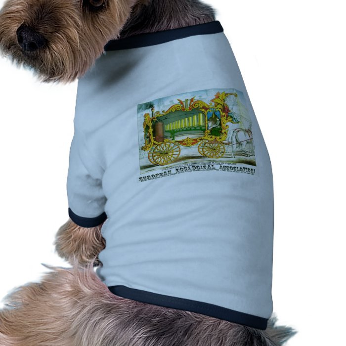 Calliope - Wonderful Operonicon Chromolithograph Ringer Dog Shirt