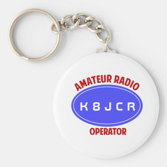 Callsign keychain